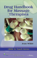 Cover of Drug Handbook for Massage Therapists