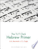 The T T Clark Hebrew Primer Book