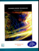 Business Driven Technology W Cd Book