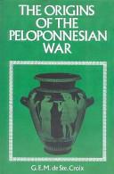 Origins of the Peloponnesian War Book