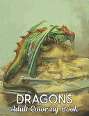 Adult Coloring Book Dragons