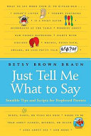 Just Tell Me What to Say Pdf/ePub eBook