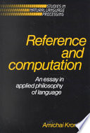 Reference And Computation Book PDF