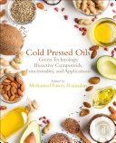 Cold Pressed Oils Book