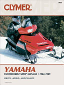Clymer Yamaha Snowmobile 1984-1989: Service, Repair, Maintenance