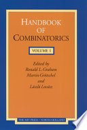 Handbook of Combinatorics Book