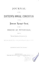 Journal of the     Annual Convention  Diocese of Pittsburgh