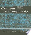 Content And Complexity Book PDF