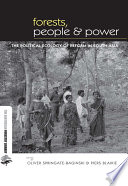 Forests People and Power  : The Political Ecology of Reform in South Asia