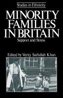 Minority Families in Britain Pdf/ePub eBook