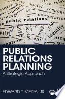 Public Relations Planning Book