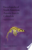 Encyclopedia Of South American Aquatic Insects Collembola Book PDF
