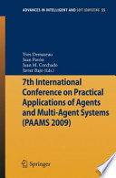 7th International Conference On Practical Applications Of Agents And Multi Agent Systems  PAAMS 09