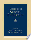 """Handbook of Special Education"" by James M. Kauffman, Daniel P. Hallahan"