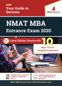 NMAT MBA Entrance Exam 2020   10 Full length Mock Test