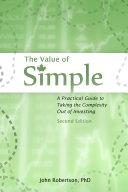The Value of Simple 2nd Ed. Pdf/ePub eBook