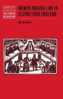 Women Waging Law in Elizabethan England