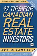97 Tips for Canadian Real Estate Investors 2 0