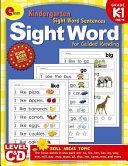 Sight Word Sentences Book