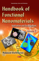 Handbook Of Functional Nanomaterials Book PDF