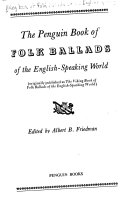The Penguin Book of Folk Ballads of the English speaking World