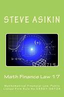 Math Finance Law 17