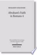 Abraham S Faith In Romans 4 Book PDF