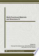 Multi Functional Materials and Structures IV