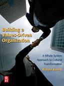Building a Values driven Organization