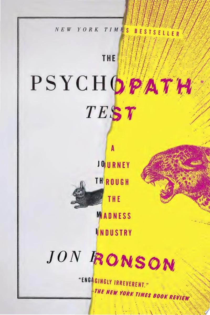 The Psychopath Test image
