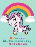 Unicorn Multi Activity Notebook