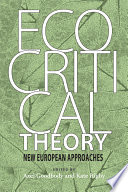 Ecocritical Theory Book