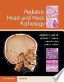 Pediatric Head And Neck Pathology Book PDF