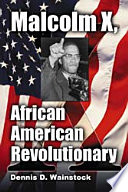 Malcolm X African American Revolutionary Book
