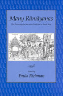 Many Rāmāyaṇas: the diversity of a narrative tradition in South Asia