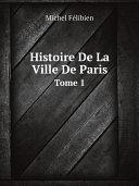 Pdf Histoire De La Ville De Paris Telecharger