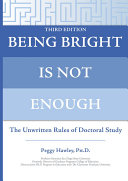 Being Bright is Not Enough