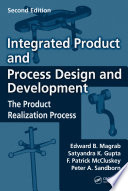Integrated Product and Process Design and Development Book