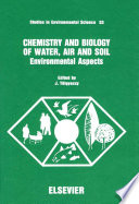 Chemistry and Biology of Water  Air and Soil