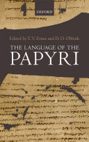 The Language of the Papyri