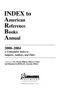Index to American Reference Books Annual Book