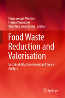 Pdf Food Waste Reduction and Valorisation Telecharger