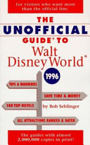 The Unofficial Guide to Walt Disney World  1996 Book