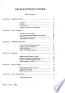 Haul Road Inspection Handbook