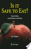 Is It Safe To Eat  Book PDF