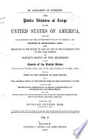 The Statutes At Large And Treaties Of The United States Of America From  Book PDF