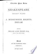 Select Plays  A Midsummer Night s Dream