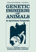 Genetic Engineering of Animals Pdf/ePub eBook