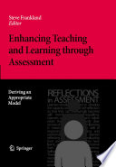Enhancing Teaching And Learning Through Assessment Book PDF