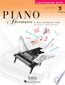 Piano Adventures   Level 2B Sightreading Book